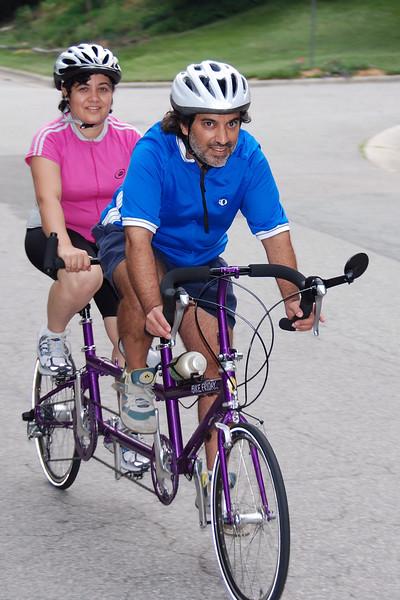Bruce Rosar: Bike Friday Tandem