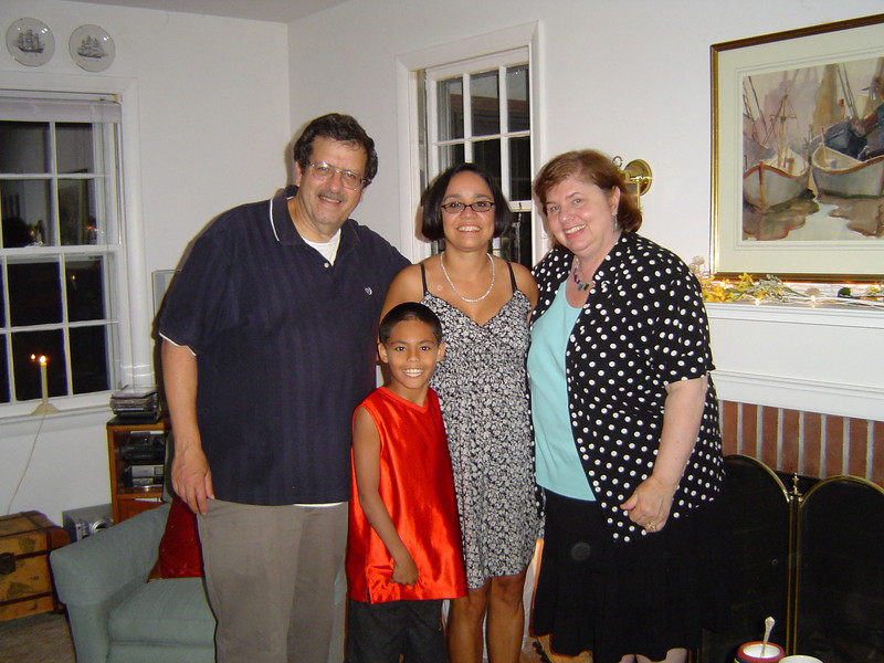 A pleasant surprise visit by our Baha'i friends from Florida!