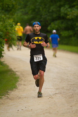 Runners in Heartland Marathon, Winona, MN