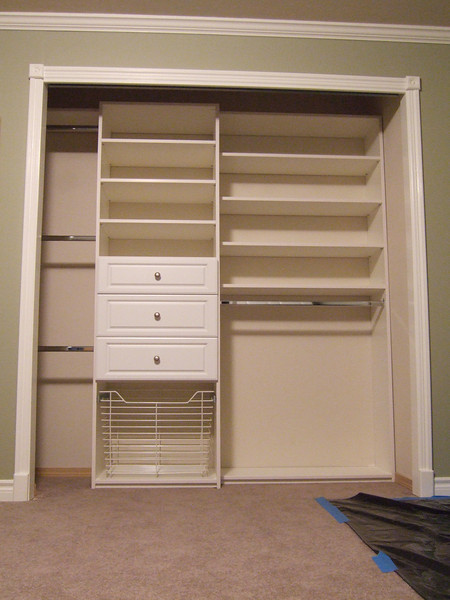 New closet organization