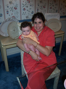 Riley Katz with proud mama Robyn (At the baby naming - Aug 2004)