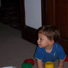 Ethan Slepner hanging out at our house (Sep. 2006)
