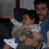 A visit from Sam Baranoff (with proud daddy Josh).  (April 2007)