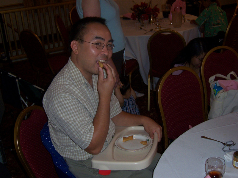 Reilley Lee at a party. (Sep 2006)