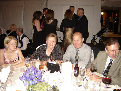 Neal and Susan with their Daughter at the Wedding  Thats Nancys Husband, Steve along side Neal