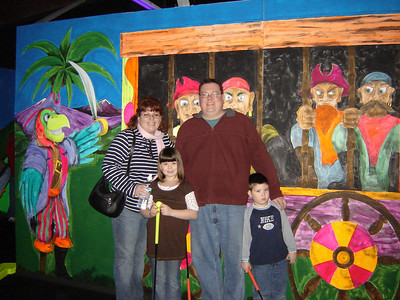 Bob and Kris pose for a picture along with Grace and Owen