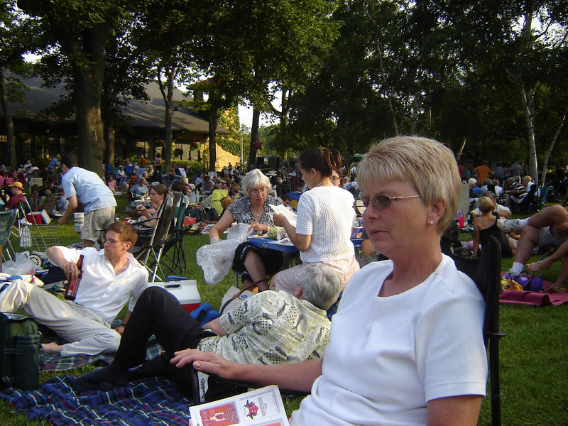 Chicago Visit, 2006 <br /> Listening to the Chicago Symphony Orchestra