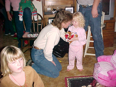 Christmas at Brenda\'s  James wife with Haley