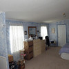 Another view of the master bedroom. Again, the boxes are slowly disappearing as we find storage space