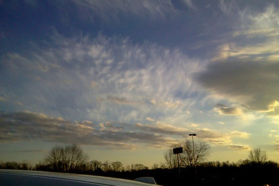 Feb. 2014 - Over Statesville, North Carolina.
