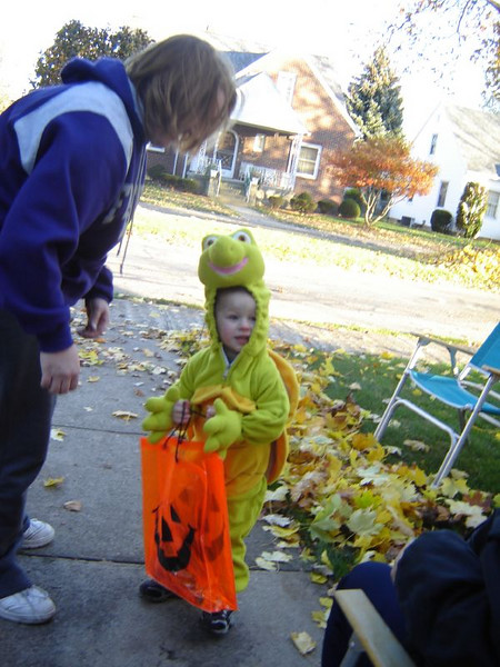 Trick-n-Treaters <br /> Such enjoyment in watching all the children in their costumes