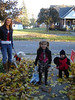 Trick-n-Treaters <br /> Samone, our neighbor girl and her little Brother