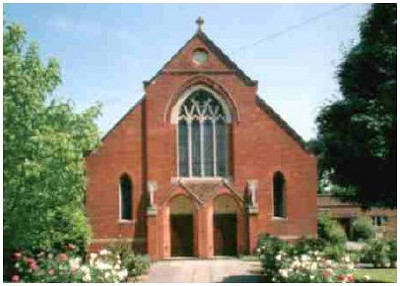 The church at 2000 before a major extension and refurbishment in 2001.