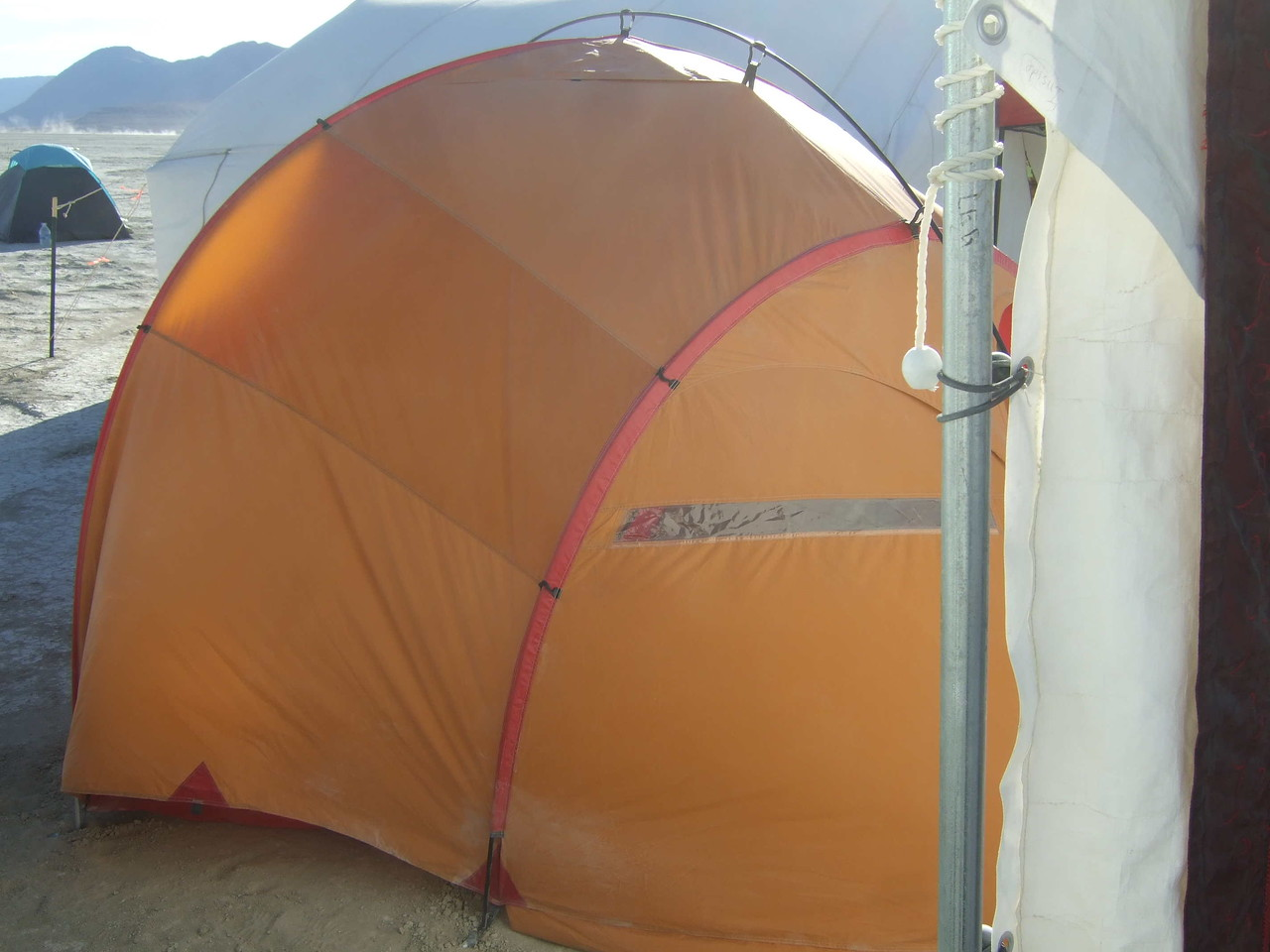 "Our MSR Wind 4 Expedition tent; more information here:<br /> <a href=""http://civex.smugmug.com/gallery/3835933_fyaKE"">http://civex.smugmug.com/gallery/3835933_fyaKE</a>"
