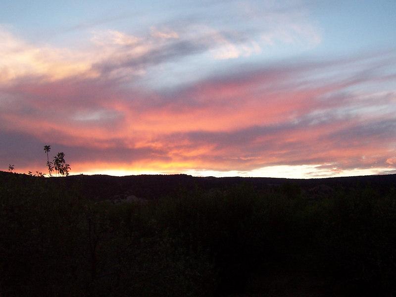 More Black Mesa sunset.