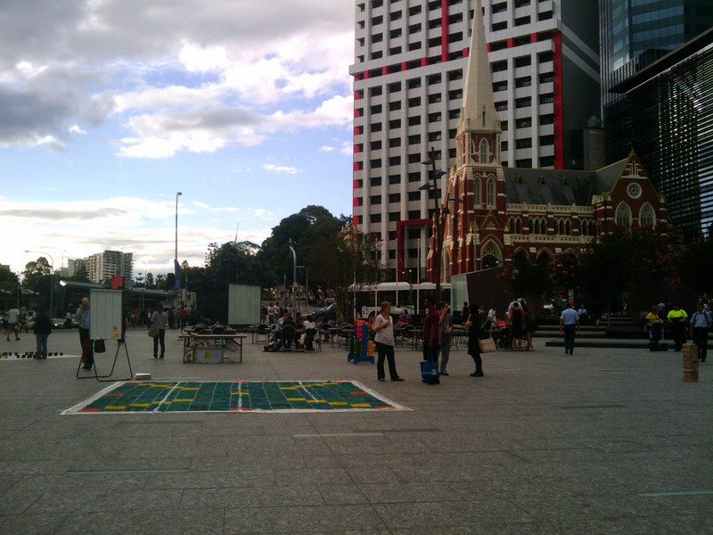 Boardgames in King George Square