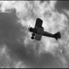 Stearman in flight