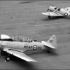 Harvard and a Fleet Fort trainer.