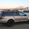 2009 Subaru Outback XT Turbo manual transmission, fully loaded with all options<br /> Mods: Matte black Rota Rims, black LED taillights, and cleared out front headlights