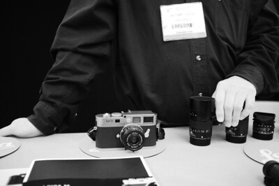 Leica booth