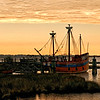 The Elizabeth II - Manteo Harbor