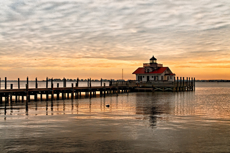 Roanoke Marshes Lighthouse - Manteo Harbor