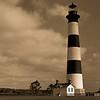 Bodie Island Lighthouse BW
