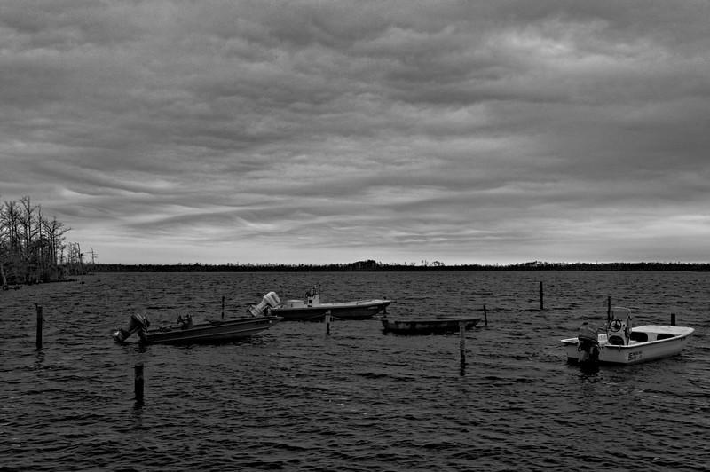 "Gathering Storm on ""Goose Pond"" at Ft. Landing"