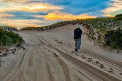 Gardner.Judith.Walking in the Provincetown Dunes