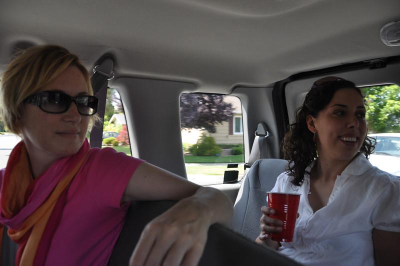 Bridget and Amy listen to Liz