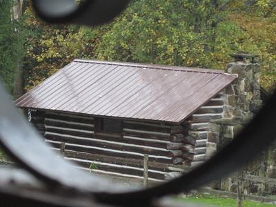 Well wrought cabin scene.