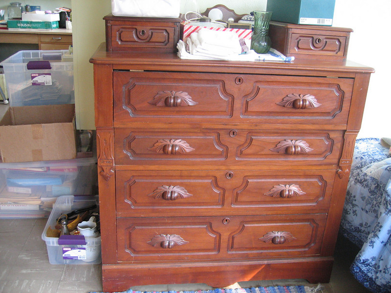 dresser formerly in Betty's south bedroom