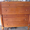 dresser (chest of drawers), cherry, from Betty's family farm