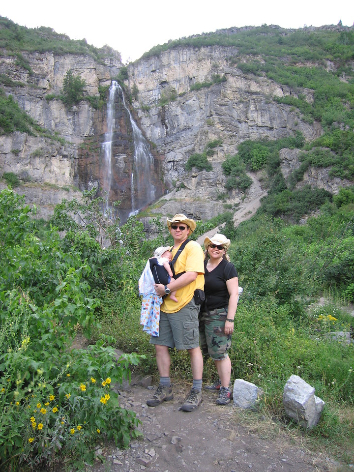 The fam at Stewart falls