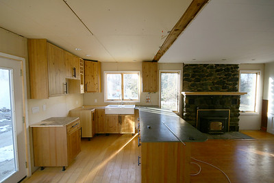 Oxford house, kitchen or kitchenette? who cares!!  we love it!! Needs countertops.