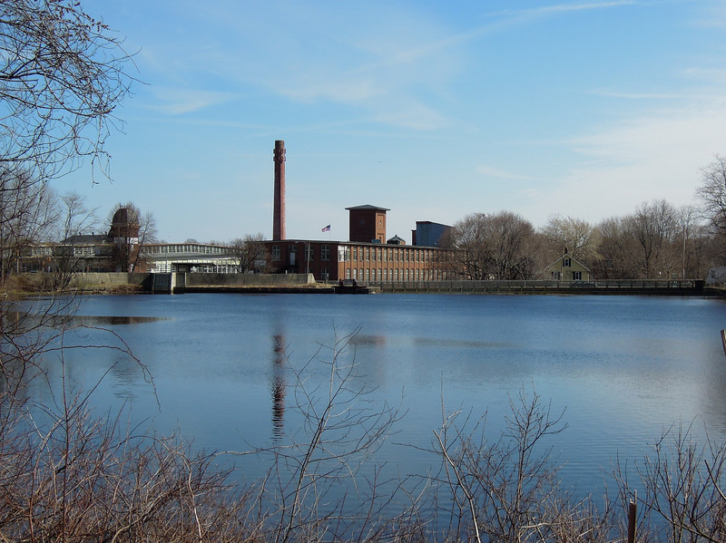 No longer in Concord, this is the historic Saxonville Mill on the Sudbury River