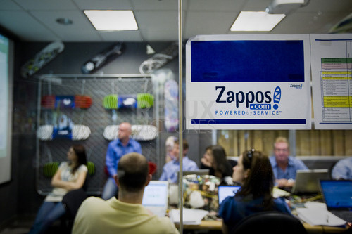 "Zappos.com is an online shoe and clothing shop founded in 1998. Based in Henderson, Nevada, the company grossed over $800 million in 2007 and in was purchased by Amazon for a reported $1.2 billion in November 2009. The company prides itself on customer loyalty and corporate culture, and publishes a ""Culture Book"" annually that is made up of contributions from employees that describe what the company culture means to them."