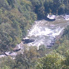 Overlook of Pillow Rock Rapid on the Upper Gauley, from the Carnifax Ferry site.