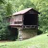 Covered bridge behind the Old Mill.