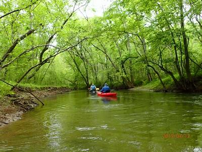 Talladega Creek, Kymulga to the lake