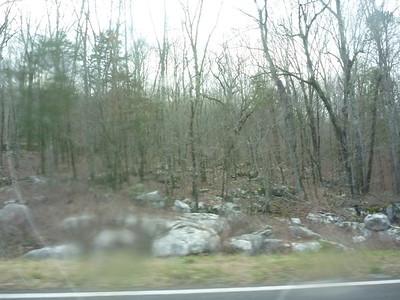 Karst area on county road 9