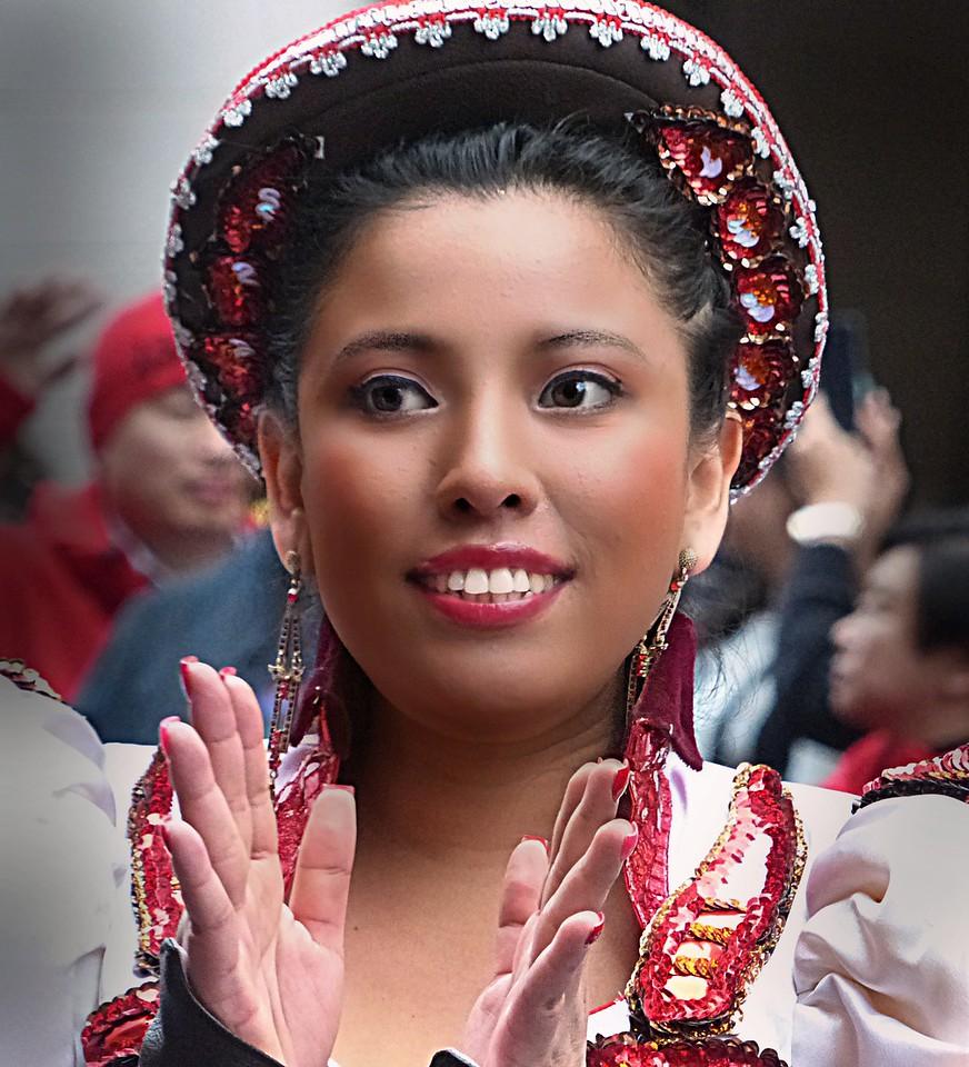parade girl