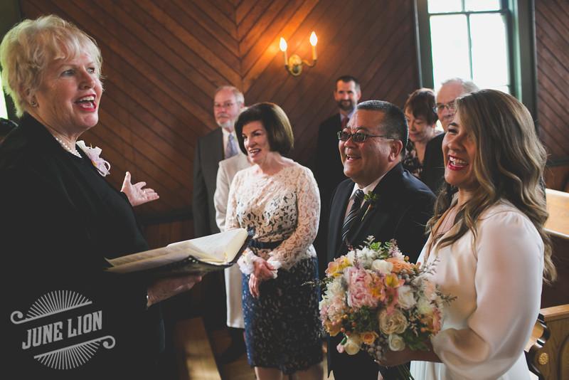 Oaks Pioneer Church wedding