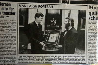 VINCENT VAN GOGH MEMORIAL JULY 29 1990