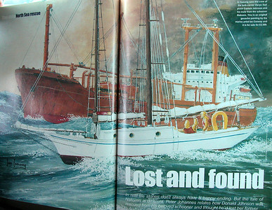 PETER JOHANNES ARTICLE IN CLASSIC BOAT MAGAZINE