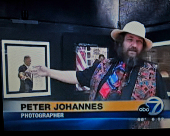 PETER JOHANNES ON ABC 7 NEWS