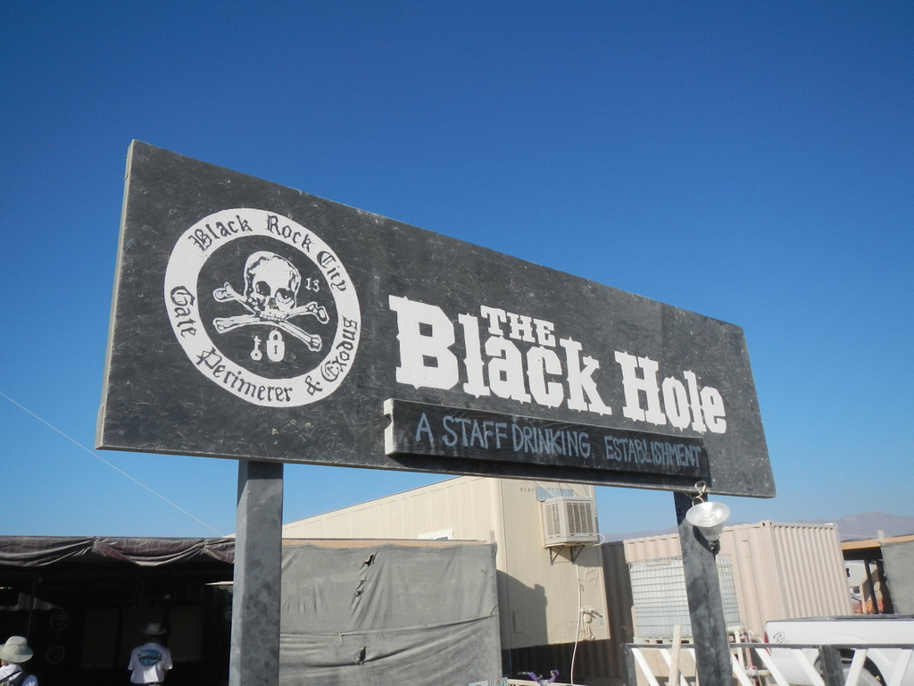 The Black Hole is where PG& crew meet for training, dispatching, and drinking.