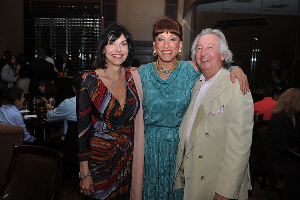 Theresa Scavetti, Anita Bovo and Norman Gardner