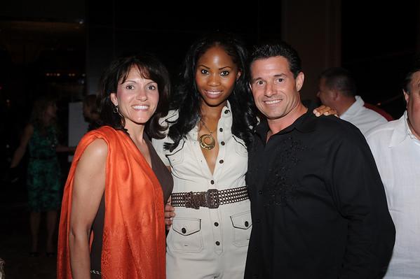 Sandy Yannatell, Monica and Michael Miraglilo