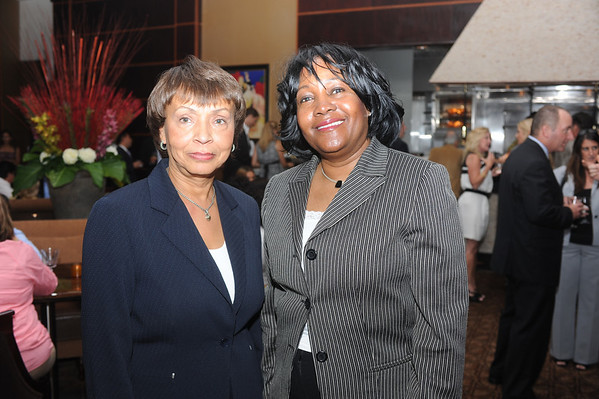 Darlene Logan and Etta Lawrence